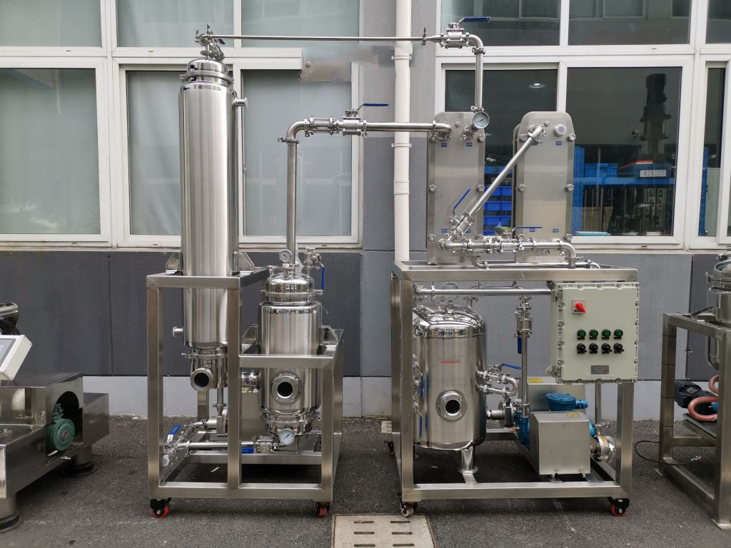 The falling film evaporator is a type of evaporator which is used for heat exchanger.