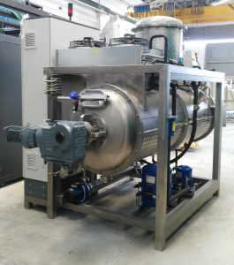 This crystallization process is very common in industries for the treatment of wastewater.